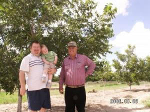 Dad's pecan farm - 2006
