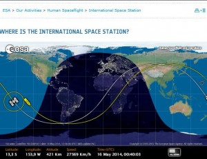 International Space Station Live Location – keynew.space